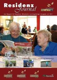 Ausgabe Juli 2011   Seite 1 - Seniorenresidenz Moseltal