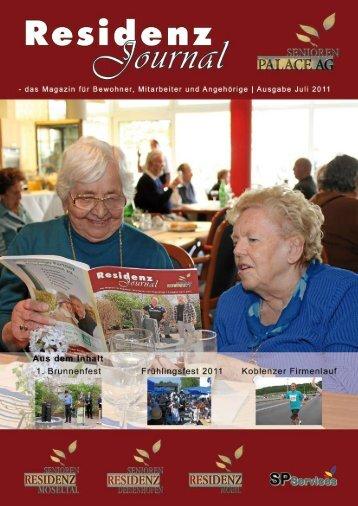 Ausgabe Juli 2011 | Seite 1 - Seniorenresidenz Moseltal