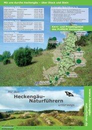 Heckengäu- Naturführern - UN Dekade Biologische Vielfalt