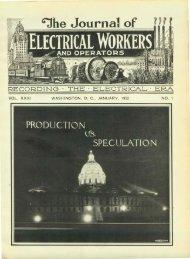 'Jhe Journal of - International Brotherhood Of Electrical Workers