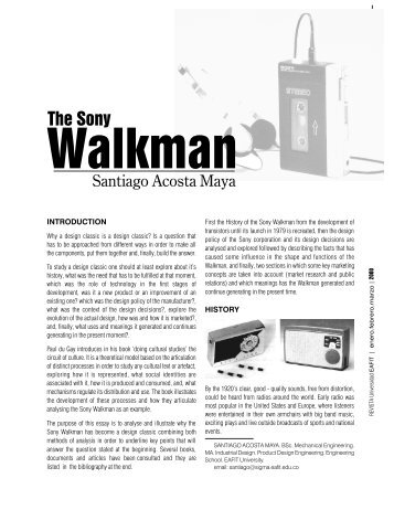 Sony Walkman - Universidad EAFIT