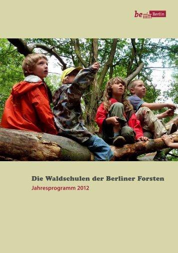 Jahresprogramm 2012 - Jugend in Berliner Wäldern eV