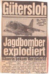 Von CHRISTIAN ALTHOFF Ein britischer Jagdbomber vom