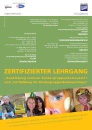 """ZERTIFIZIERTER LEHRGANG """"Ausbildung zum/zur - Mentor"""