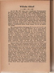Wilhelm Althoff - Naturwissenschaftlicher Verein für Bielefeld und ...