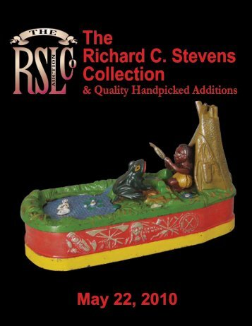 The Richard C. Stevens Collection May 22, 2010 - RSL Auction ...