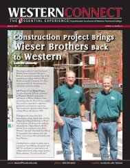 WESTERNCONNECT - Western Technical College