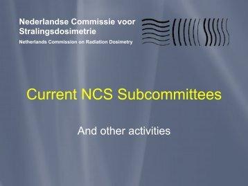 Published NCS reports - Nederlandse Commissie voor ...