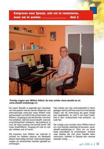 Willem Althof - ondernemers in spanje