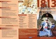 Download Flyer (PDF) - 1813 Völkerschlacht