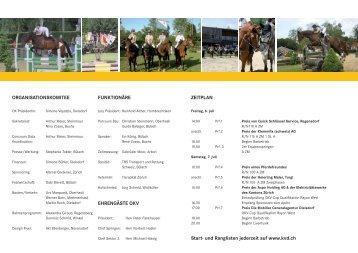 kVD Sommerspringen - KVD-Kavallerieverein Dielsdorf