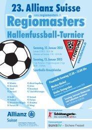 Informationen zum Hallenfussball-Turnier - acrevis