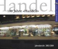 100 Jahre «Handeli» - Kantonsschule Enge