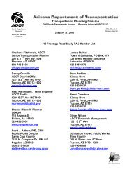 Transportation Planning Division - Arizona Department of ...