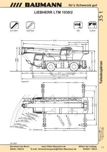 LIEBHERR LTM 1030/2 - Baumann