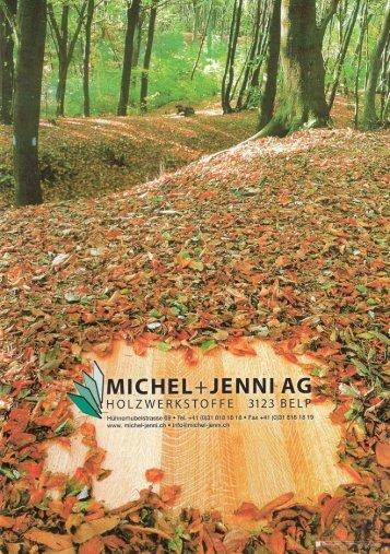Firmenbroschüre Michel + Jenni AG