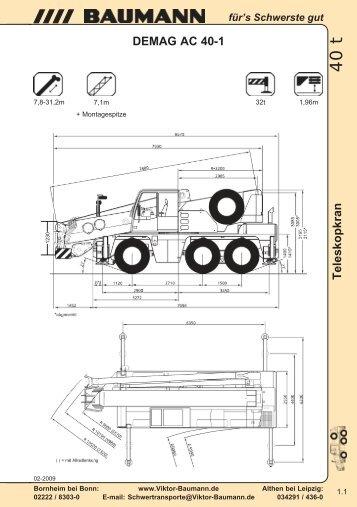 DEMAG AC 40-1 - Baumann