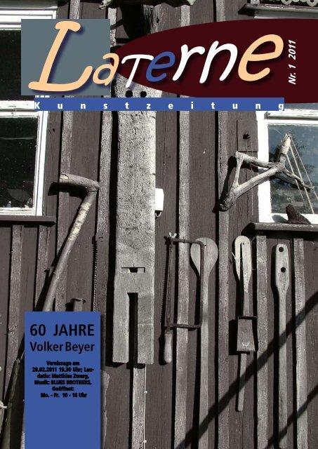60 Jahre Volker Beyer, das klingt - Galerie Laterne