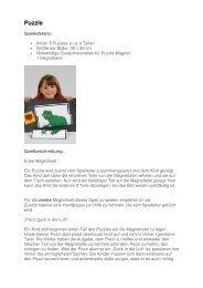 Puzzle Magnet - Verein Vision