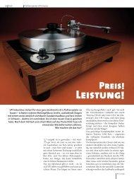 Plattenspieler VPI Classic - LP 05/2009