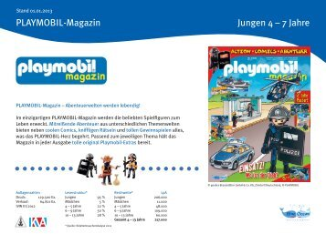 Mediadaten 2013 PLAYMOBIL-Magazin - Blue Ocean Entertainment ...