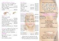 Platinum Beauty tri-fold leaflet 2011.cdr - Platinum Glamour Home