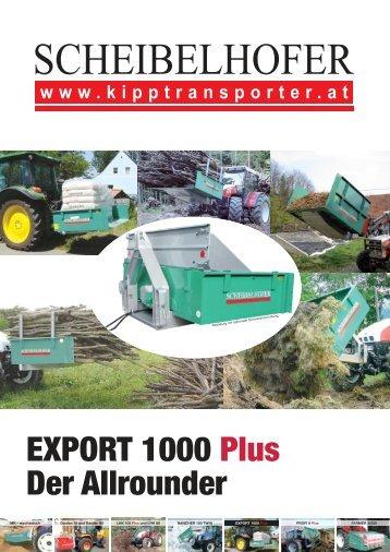 EXPORT 1000 Plus Der Allrounder - Ledinegg