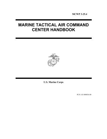 marine tactical air command center handbook - Combatindex.com