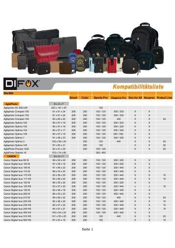 DIFOX Taschen - DGH