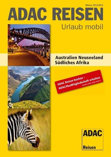 ADAC - Australien, Neuseeland, Südliches Afrika - Parteneri ...