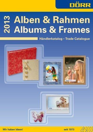 Alben & Rahmen - Index of