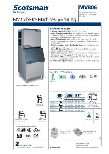 scotsman machine evaporator