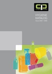 HYGIENE KATALOG - Chemoplan