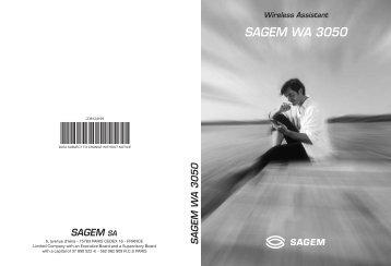 SAGEM WA 3050 - Fax-Anleitung.de