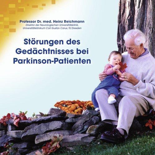 Patienten Broschüre_RZ.indd - Kompetenznetz Parkinson