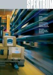 Schwerpunktthemen Logistik: Besuch im zentralen ... - ESG