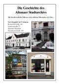 Die Geschichte des Altonaer Stadtarchivs - Altonaer Stadtarchiv e.V. - Seite 2