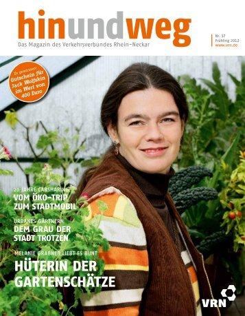 HIN UND WEG - VRN Verkehrsverbund Rhein-Neckar