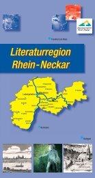 Literaturregion Rhein-Neckar Literaturregion Rhein-Neckar