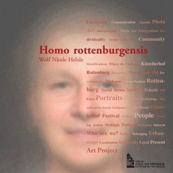 Homo rottenburgensis - Wolf Nkole Helzle