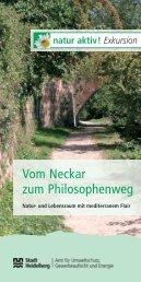 Vom Neckar zum Philosophenweg - Heidelberg