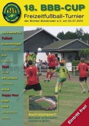 18. BBB-CUP - Brühler Bolzbrüder eV - Home