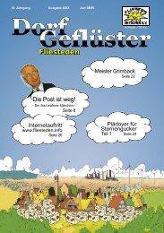 DorfGeflüster - Bürgerseite Fliesteden