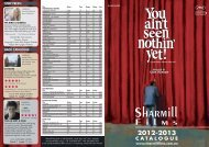2012-2013 catalogue - Sharmill Films