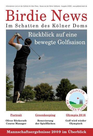 Mannschaftsergebnisse - Golfplatz Am Alten Fliess e.V.