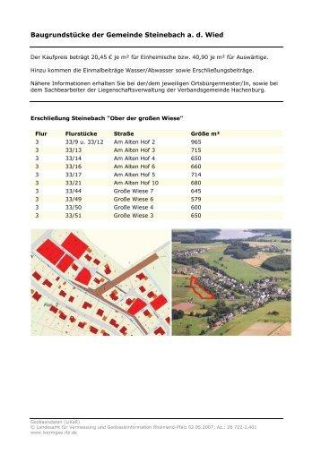 Download Lageplan - Verbandsgemeinde Hachenburg