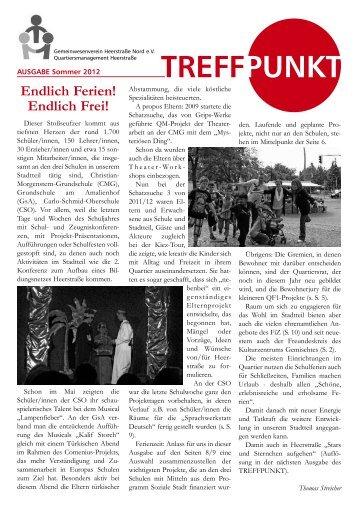 Treffpunkt Ausgabe Sommer 2012 - staaken.info