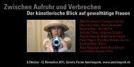 Zwischen Aufruhr und Verbrechen - Förderband - Kulturinitiative Berlin