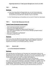 Ergebnisprotokoll zur 5. Sitzung des Dialogforums am 20. Juni 2012 ...