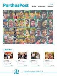 ehrenamtlicher Mitarbeiter - Evangelisches Perthes-Werk eV